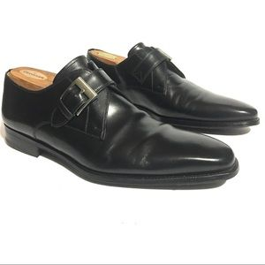 Men's Magnanni Monk Strap Leather Shoes Size 11
